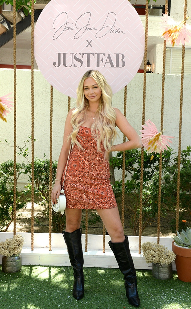 Corinne Olympios -  Party at the Avalon Hotel! The  Bachelor in Paradise  star attends Boots & Brunch by Jessie James Decker and JustFab on Day 1.