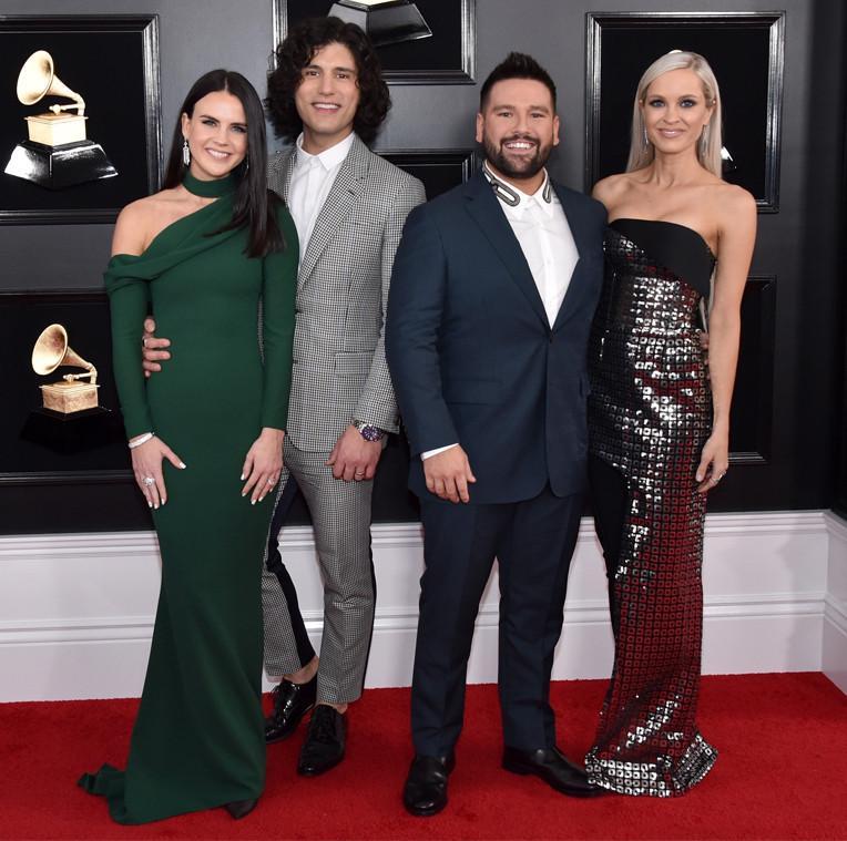 Dan Smyers, Shay Mooney, Dan + Shay, Abby Law, Hannah Billingsley, 2019 Grammys