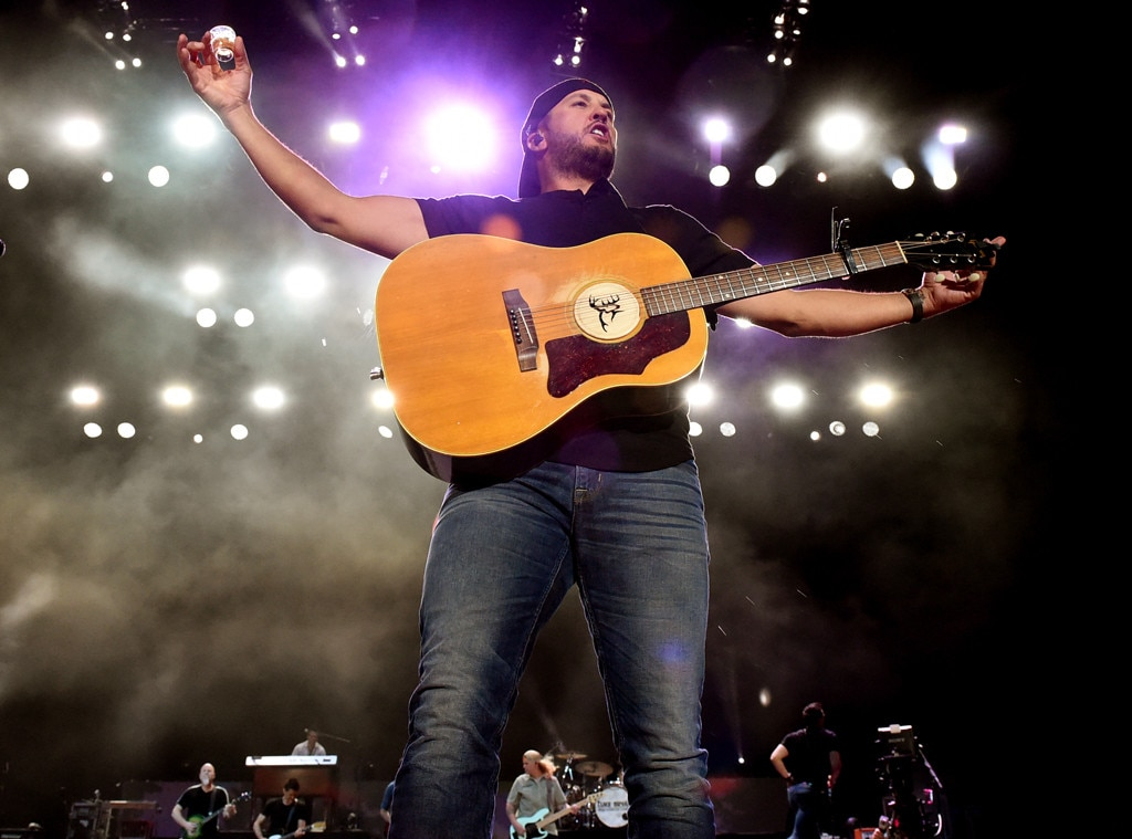 Luke Bryan -  The country star knows how to party!