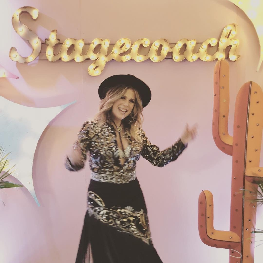 """Rita Wilson -  """" @stagecoach thank you!!!! Had THE Best time!!! Even in the crazy heat you brought the energy and love!!"""" the singer shared on Instagram after performing on Day 2. """"#stagecoach #singer #singersongwriter #songwriter."""""""