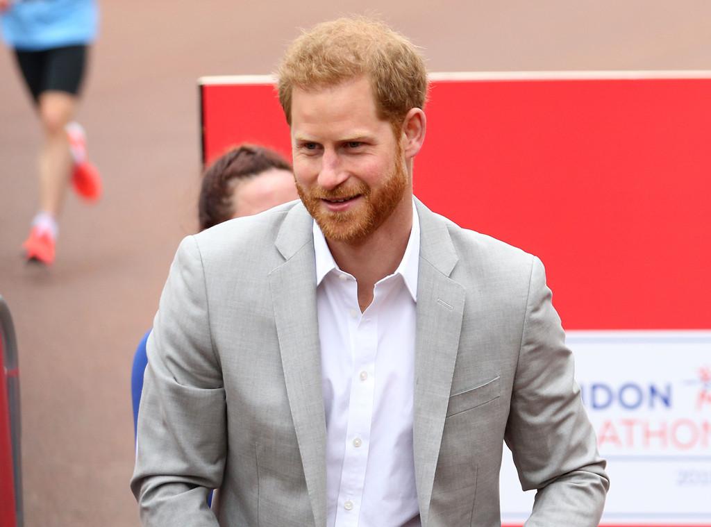 Prince Harry, London Marathon