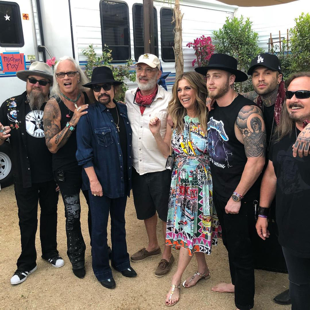 Rita Wilson, Tom Hanks, Chet Hanks, Lynyrd Skynyrd, Stagecoach 2019