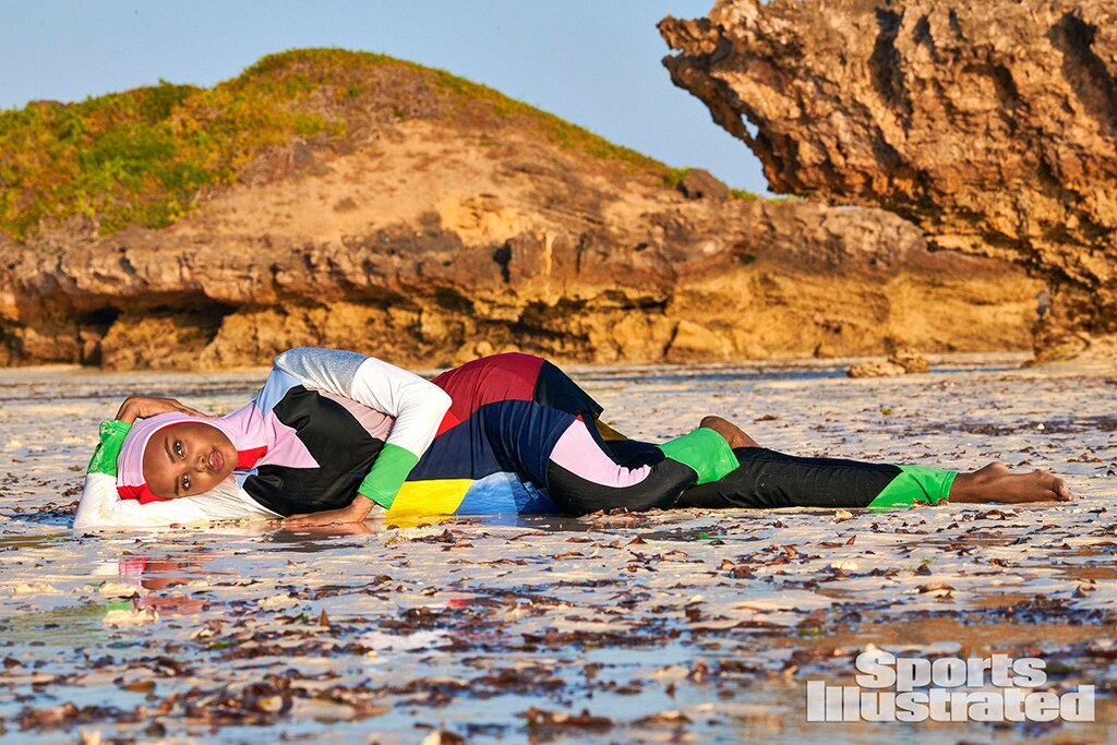 In first, Sports Illustrated will feature burkini-clad model