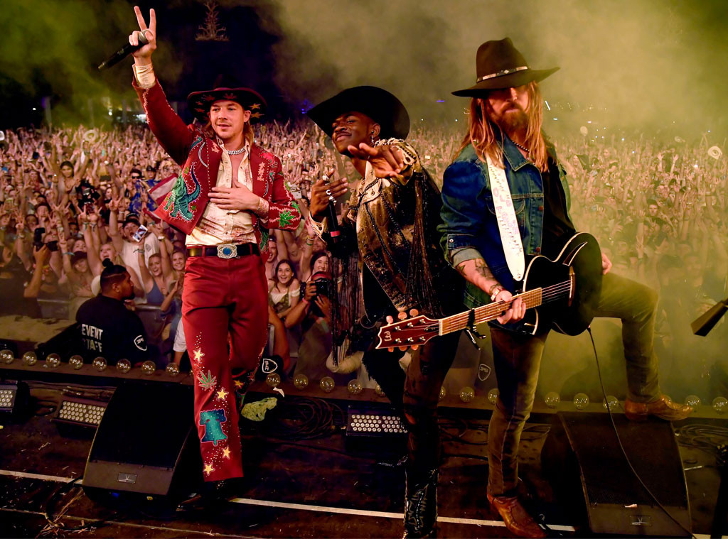 Diplo, Lil Nas X, Billy Ray Cyrus, Stagecoach, 2019 Stagecoach