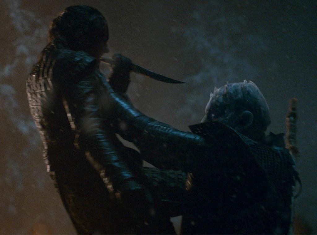 Game of Thrones, Episode 3, Season 8, Arya, Night King