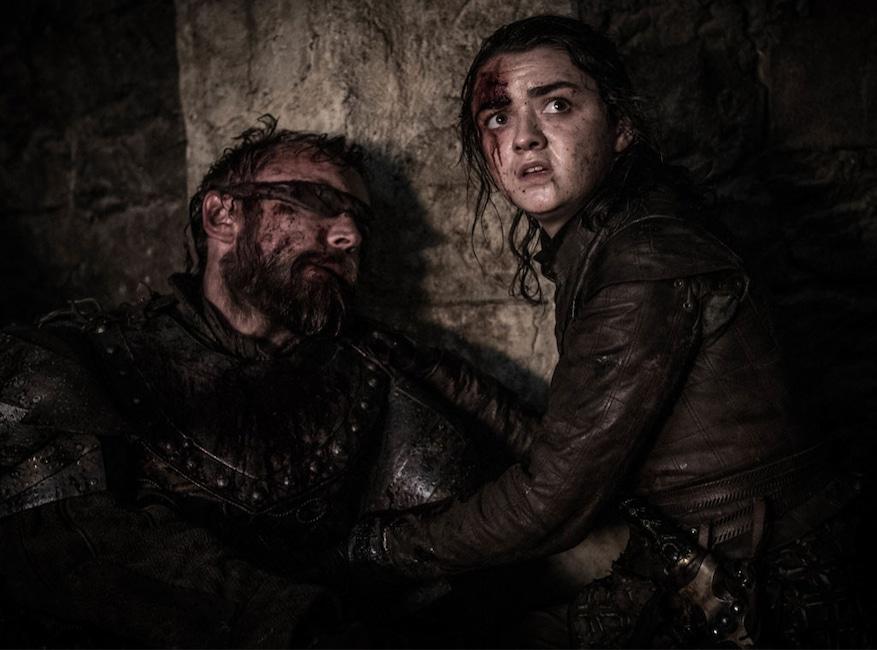 Game of Thrones, Episode 3, Episode 8, Arya, Beric