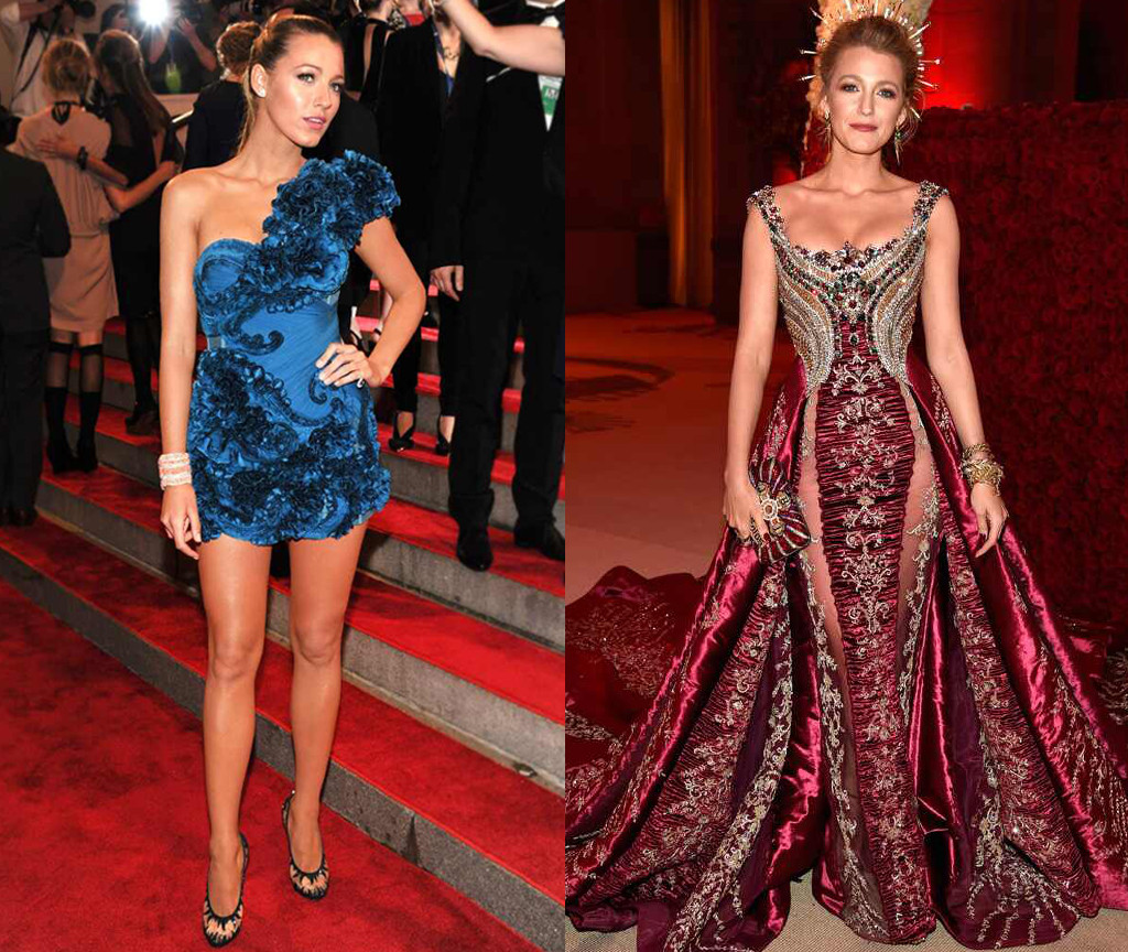 b45a91084 See Blake Lively s Most Iconic Met Gala Looks Over the Years