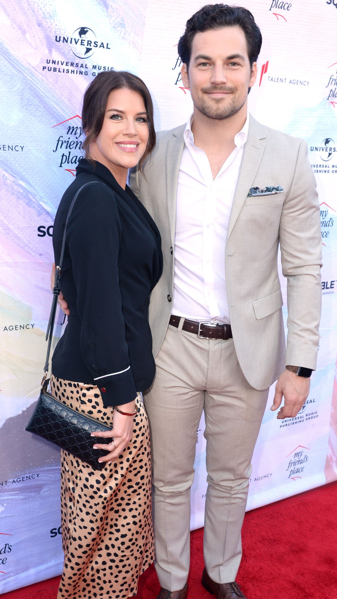 """Giacomo Gianniotti & Nichole Gustafson -  The 29-year-old  Grey's Anatomy  actor, who plays Dr. Andrew DeLuca on the hit TV show,  said """"I do""""  to his longtime love in April."""