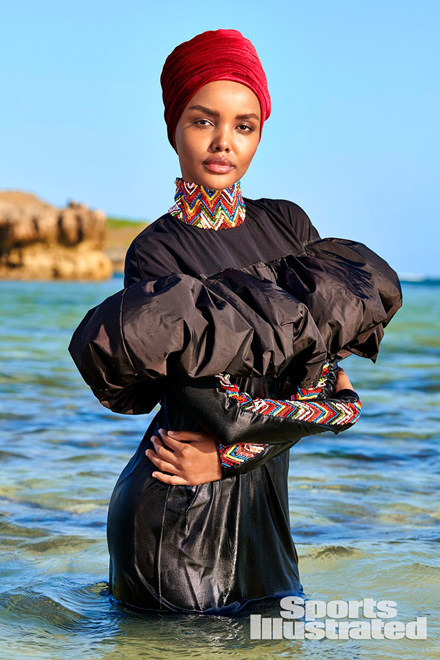 8b19eb372ffc76 Halima Aden Makes History as First Model to Wear a Hijab and Burkini for  Sports Illustrated s Swimsuit Issue