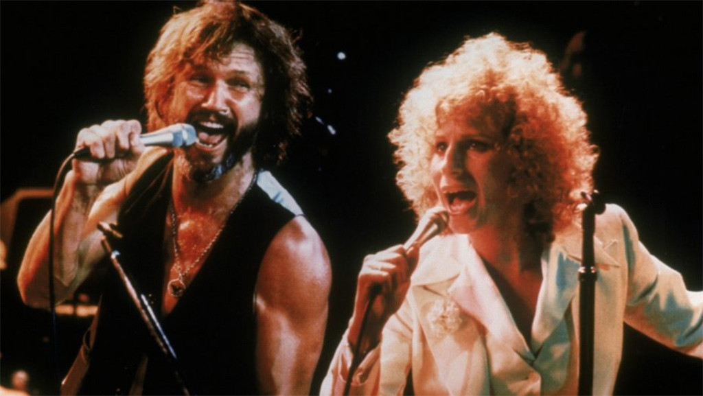 Barbra Streisand, Kris Kristofferson, A Star Is Born, 1976