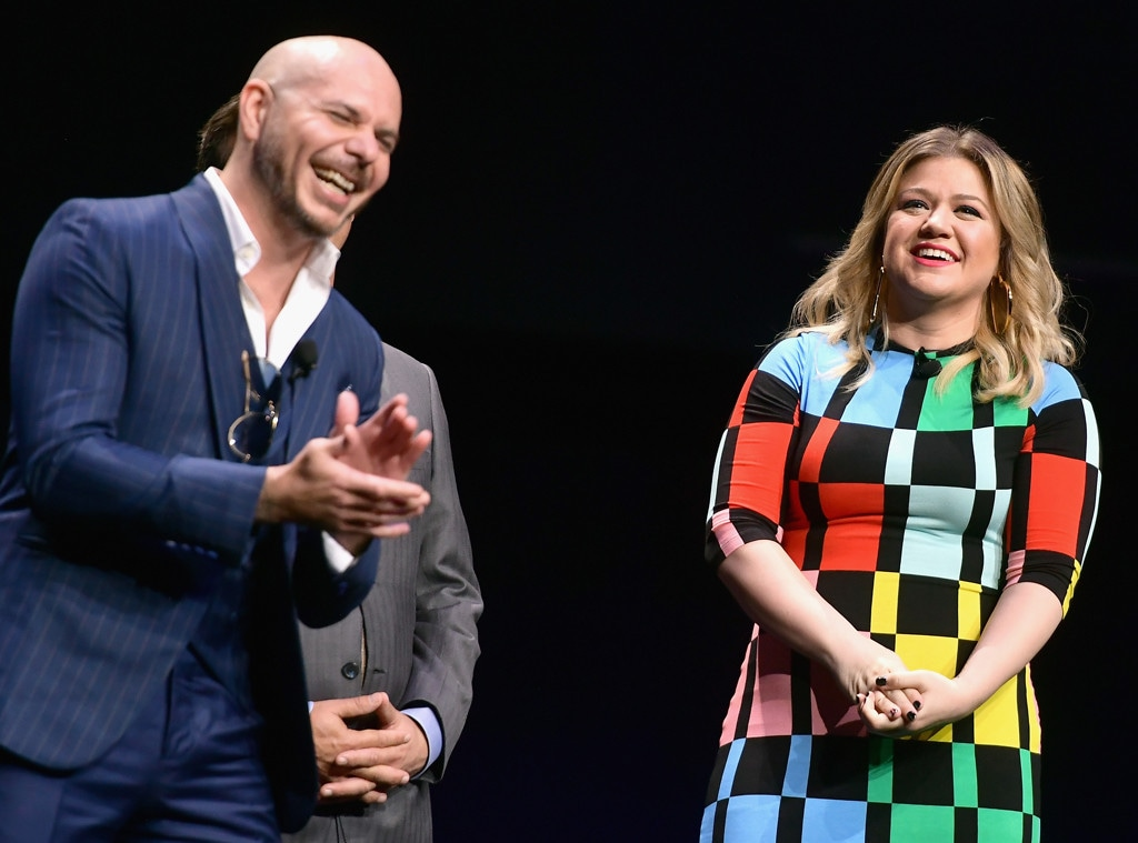 Pitbull, Kelly Clarkson, 2019 CinemaCon