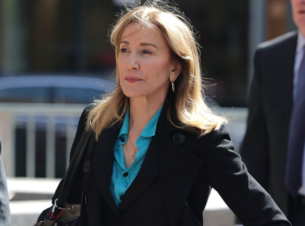 Felicity Huffman, Boston, Court