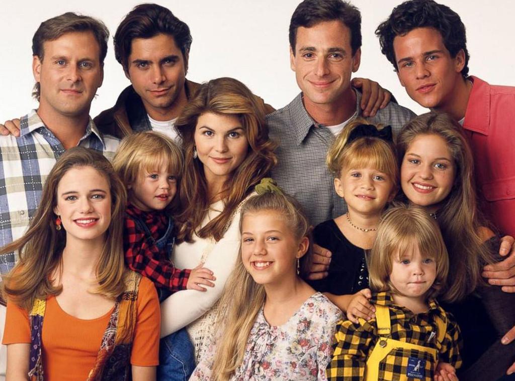 Full House Cast, Candace Cameron Bure, Jodie Sweetin, Lori Loughlin, John Stamos