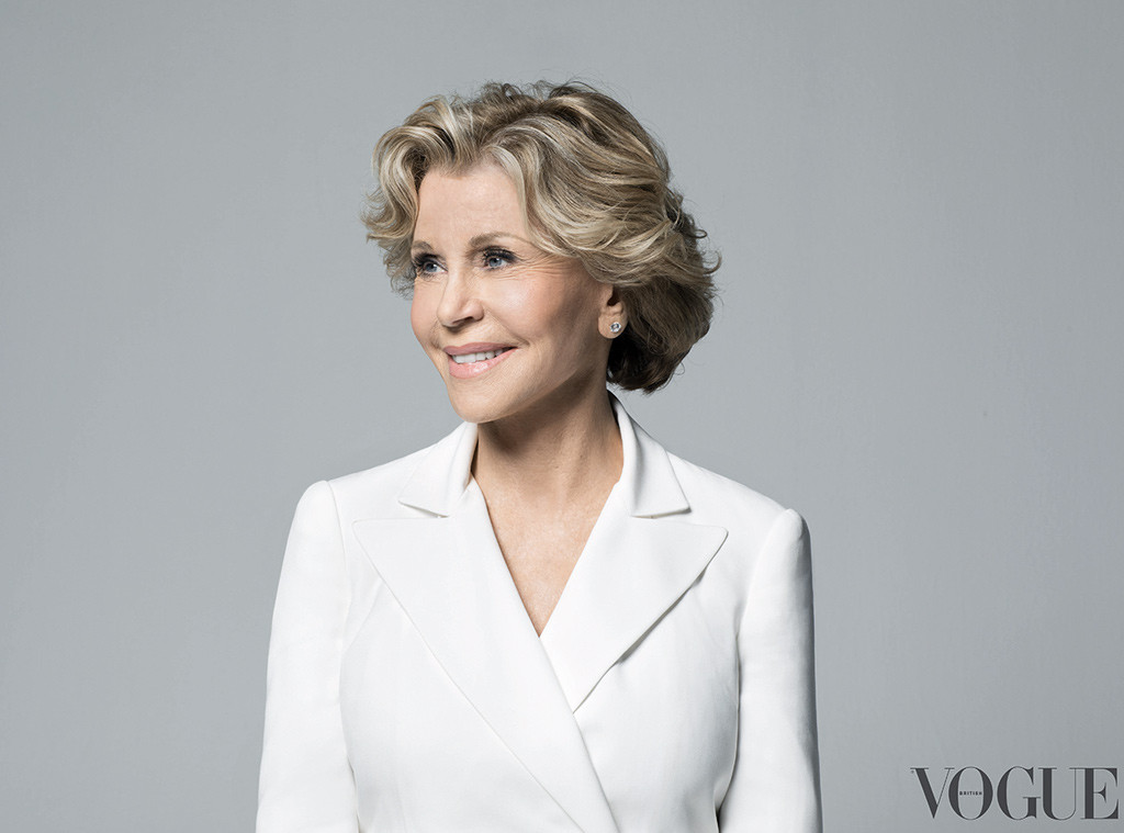 Jane Fonda, British Vogue