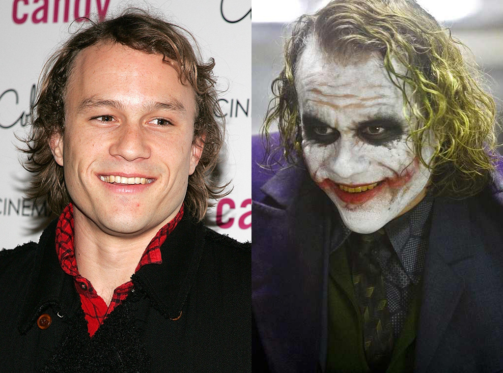 Heath Ledger, The Joker, The Dark Knight