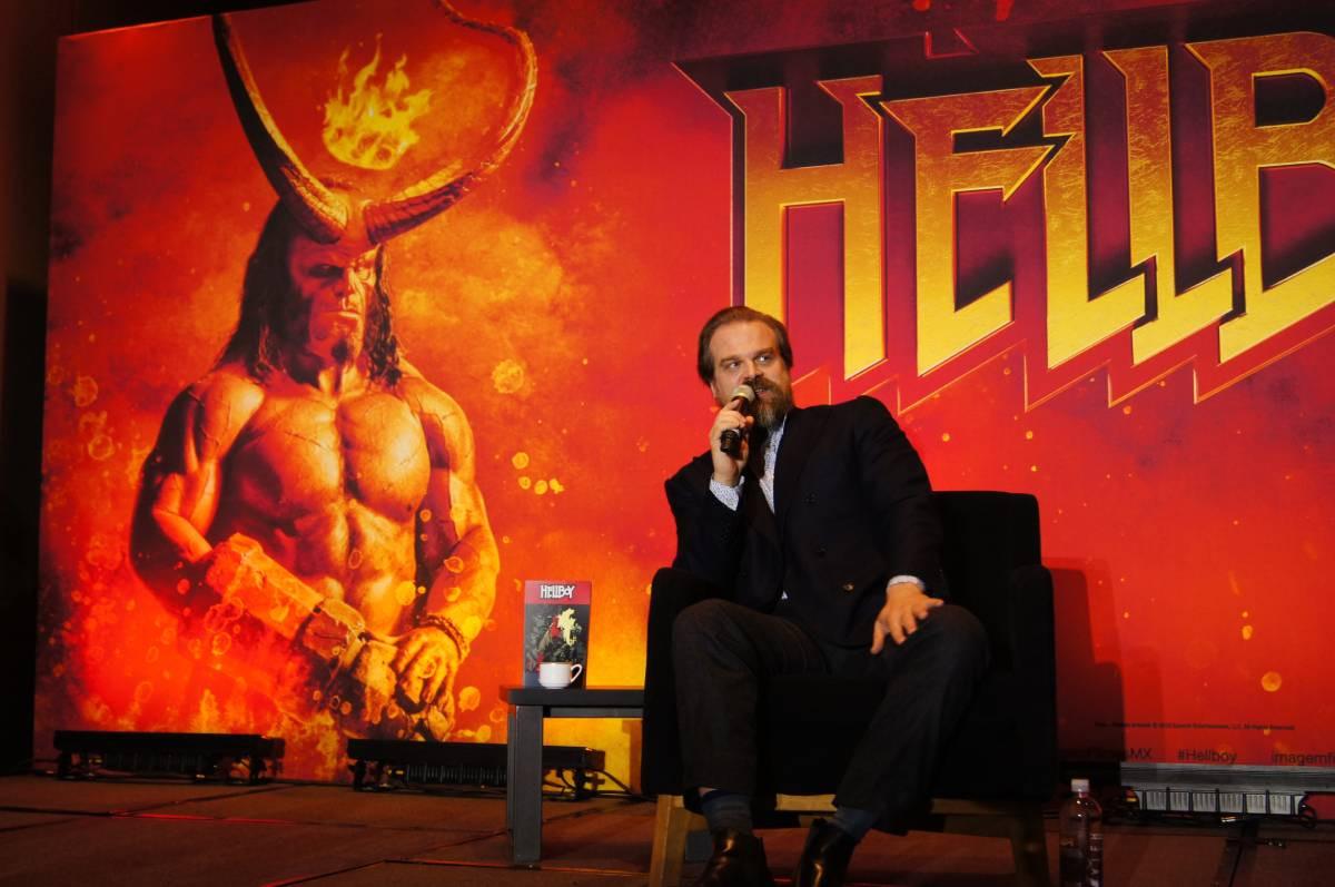 Hellboy, David Harbour en la Ciudad de México