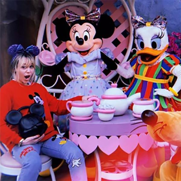 Miley Cyrus, Disneyland