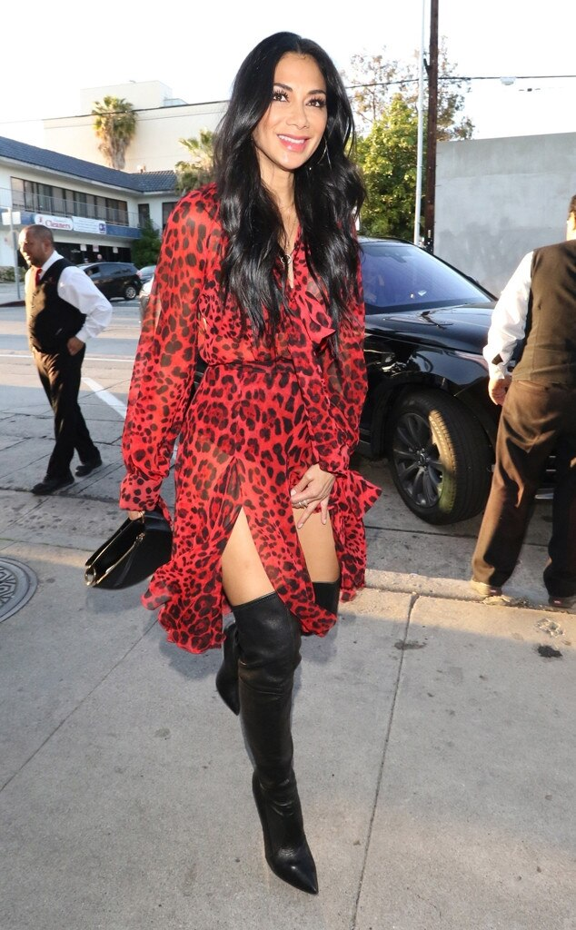 Nicole Scherzinger -  Lady in red!