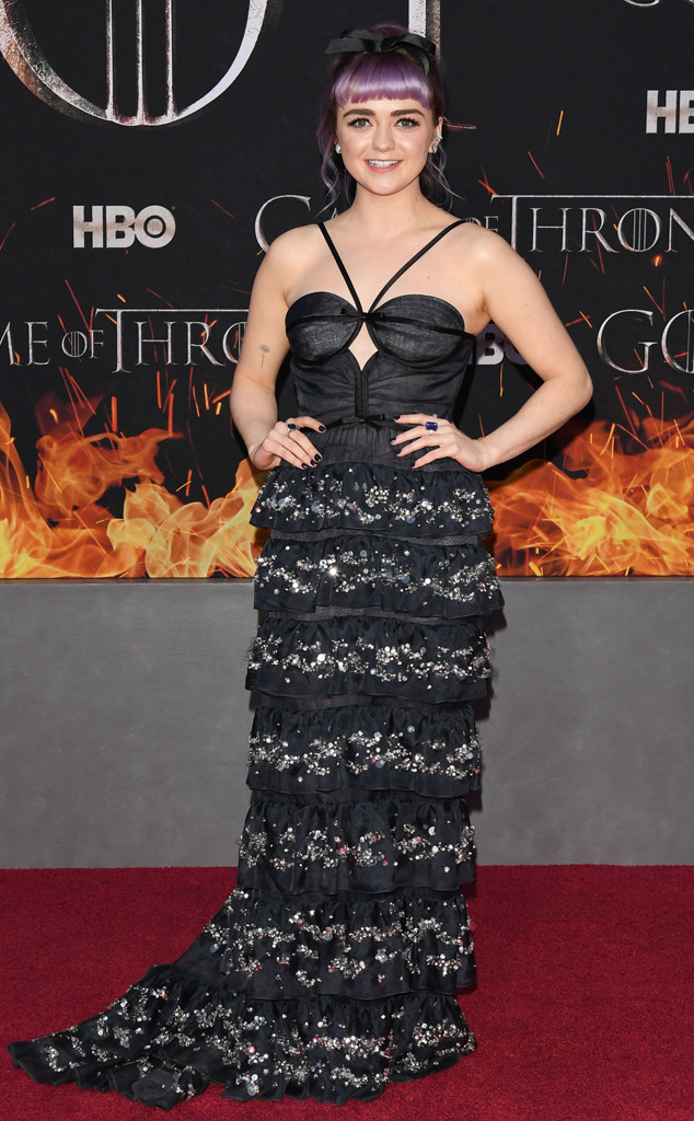 Maisie Williams, Game of Thrones Season 8 Premiere