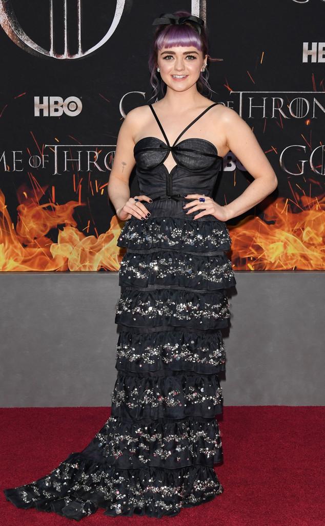 Maisie Williams, Game of Thrones Season 8 Premiere