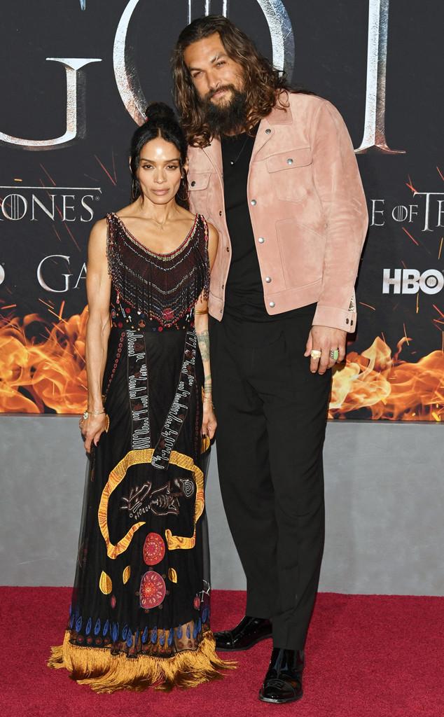 Jason Momoa, Lisa Bonet, Game of Thrones Season 8 Premiere