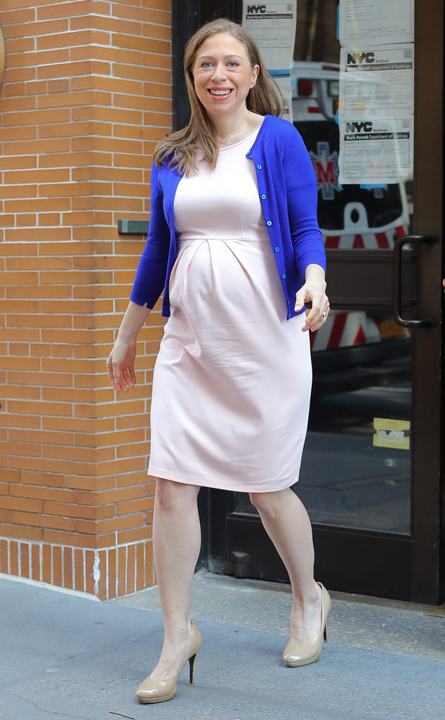 Chelsea Clinton Gives Birth to Baby No. 3