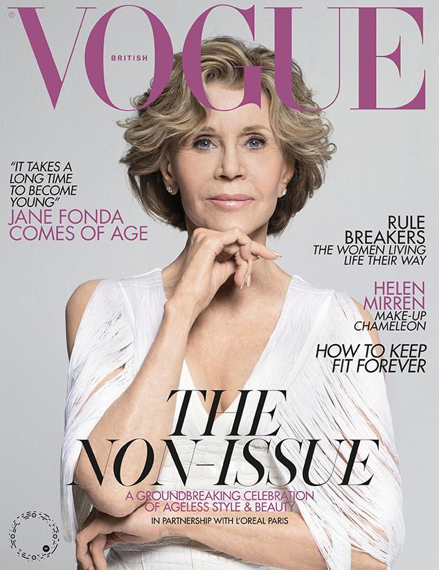 Jane Fonda, British Vogue