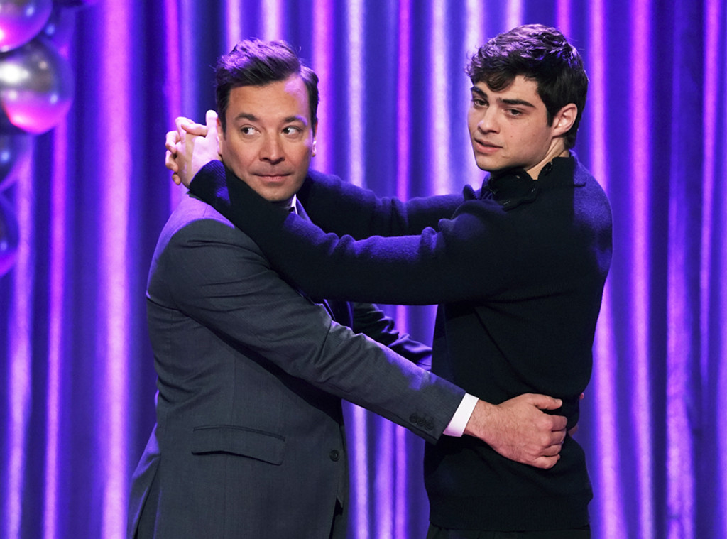 Jimmy Fallon, Noah Centineo, Dance Battle
