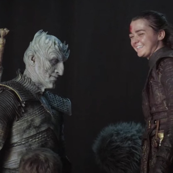 Maisie Williams Reveals What You Didn't See When Arya Stark Saved the Day on Game of Thrones