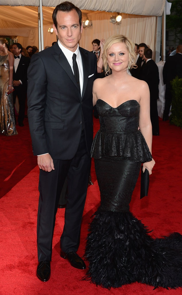 Amy Poehler & Will Arnett -  The  Parks and Recreation and the Arrested Development starsmarried in 2003 and announced their separation in 2012. They co-parent their two sons  Archie  and  Abel .
