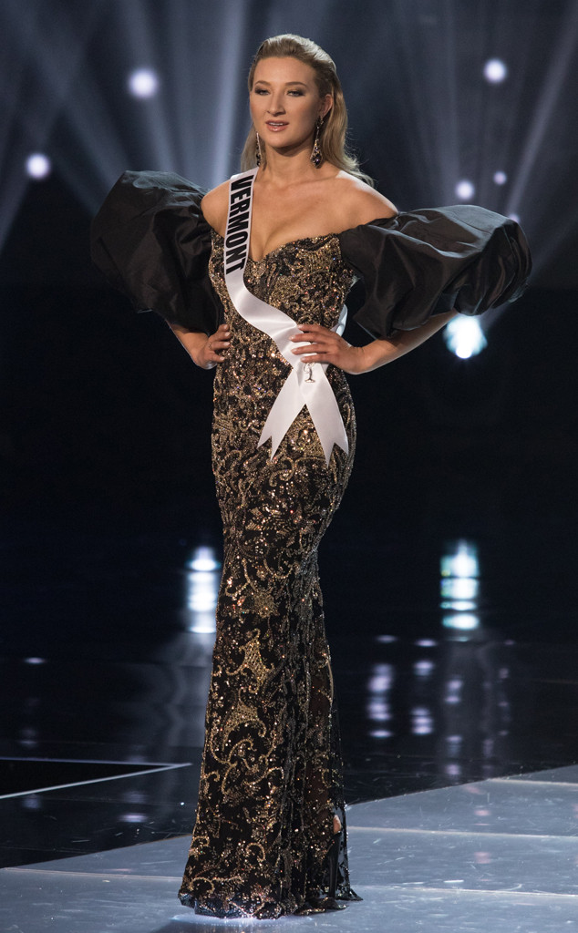 See the Miss USA 2019 Contestants Model Their Evening Gowns