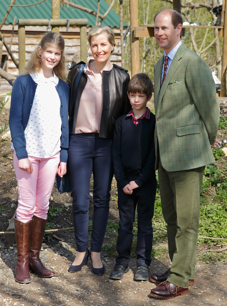 Prince Edward, Lady Louise Windsor, Sophie Countess of Wessex, James Viscount Severn