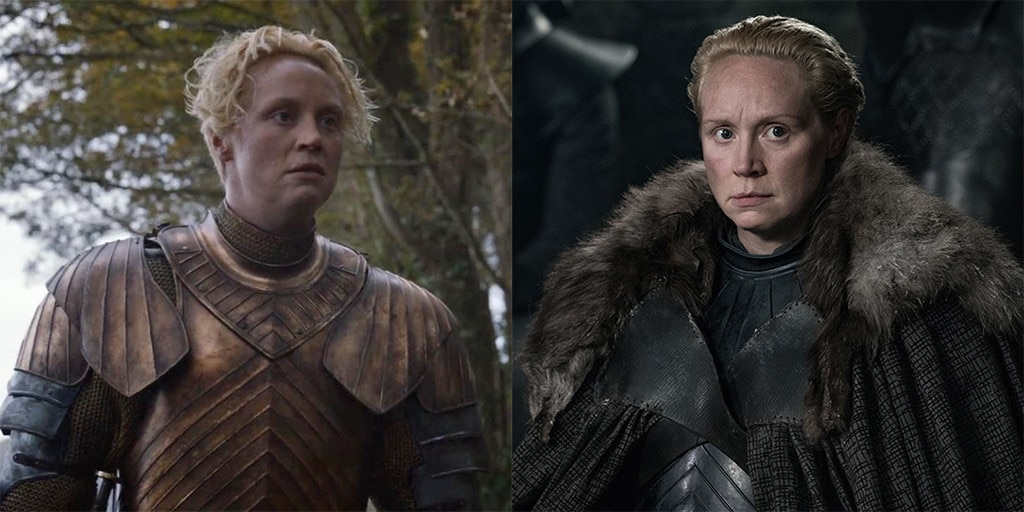 Gwendoline Christie as Brienne of Tarth from Game of ...