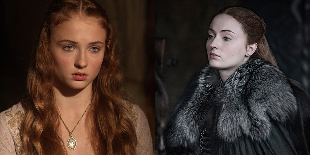 Sophie Turner, Game of Thrones, Actors, First Season, Last Season