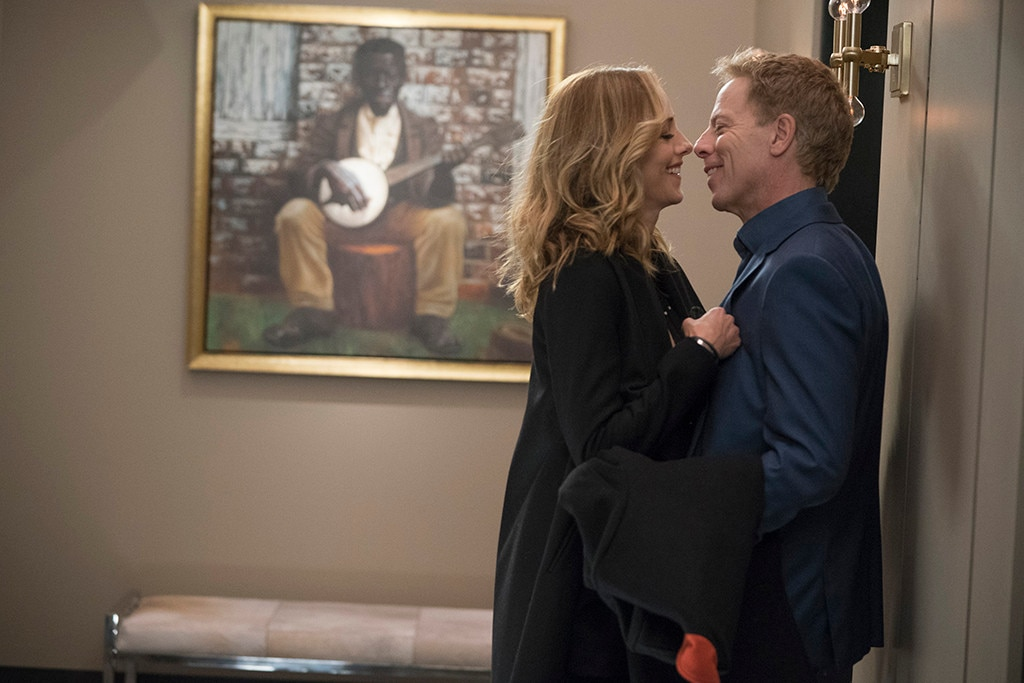 Teddy and Koracick -  Teddy (Kim Raver) may be pregnant with Owen's baby, but until recently, Owen was with Amelia, so Teddy found romance with Tom Koracick (Greg Germann). It does seem that he's a little more into it than she is, but this whole dynamic will probably change when that baby is born...