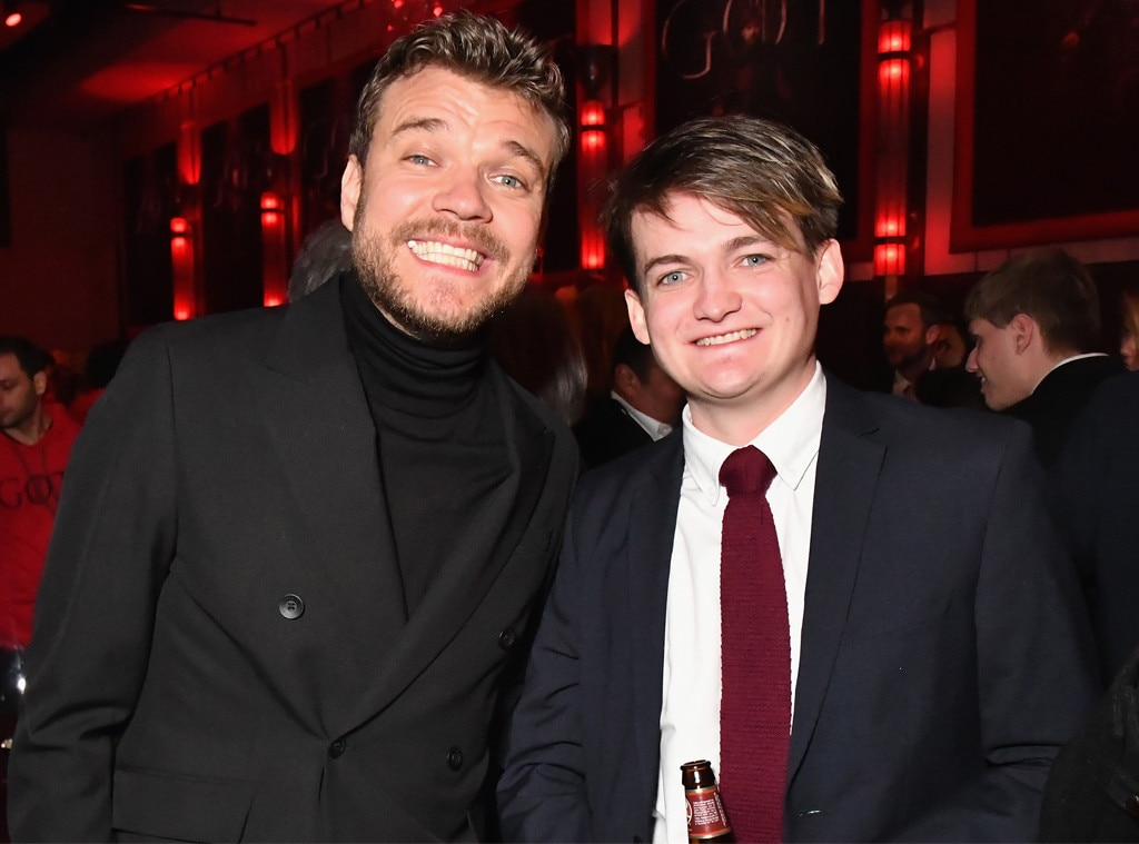 Pilou Asbæk, Jack Gleeson, Game of Thrones Season 8 Premiere, After Party