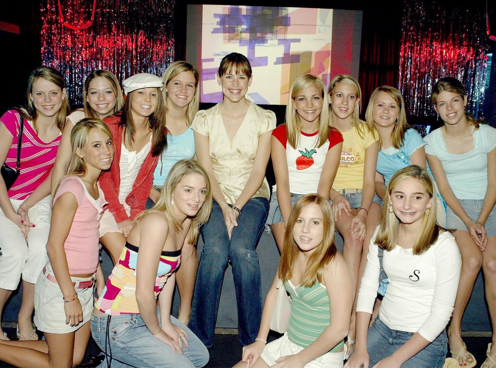 Jennifer Garner, Jamie Lynn Spears, Friends, Birthday, 13 Going on 30 Screening