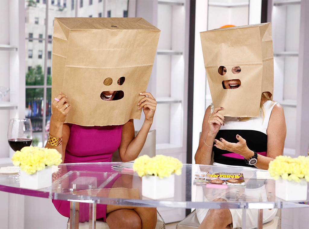 Bag Ladies -  Apparently, in 2014, a new trend in speed dating was for people to put paper bags over their heads to get beyond just the physical. Naturally, KLG and Hoda had to have some fun with it.