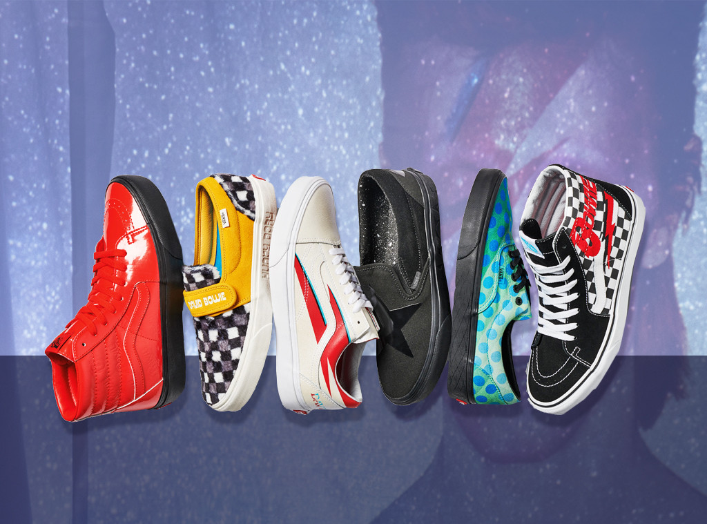 d8ceb36966 Vans Honors David Bowie With a Limited Collection
