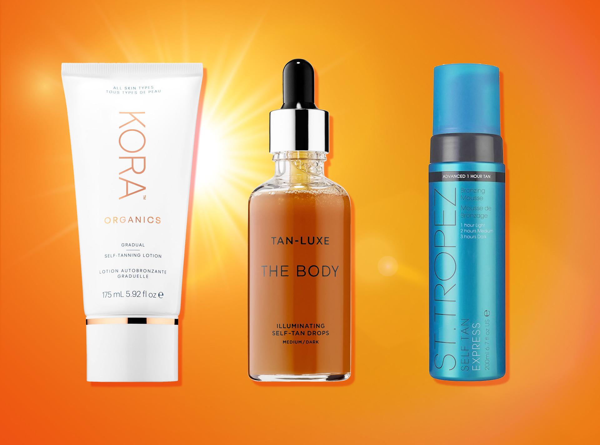 E-Comm: Self Tanners Ranked