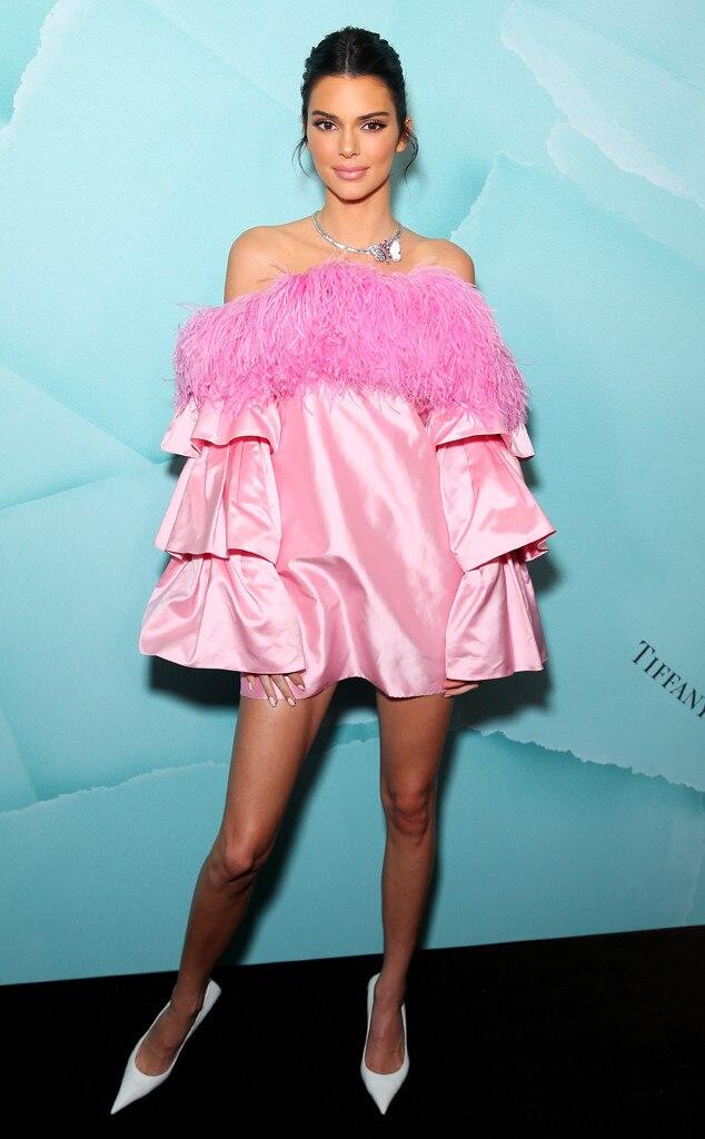 Kendall Jenner -  Playful pink!