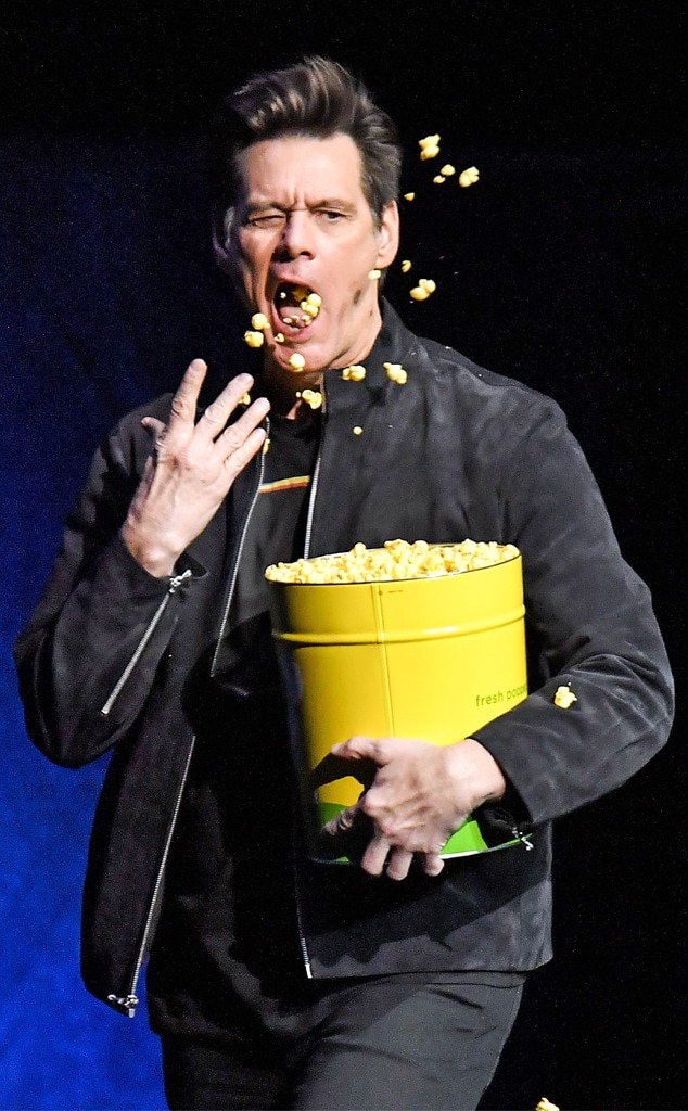 Jim Carrey -  Popcorn time!