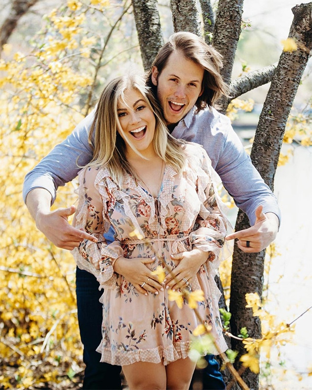 Shawn Johnson, Andrew East, Pregnant