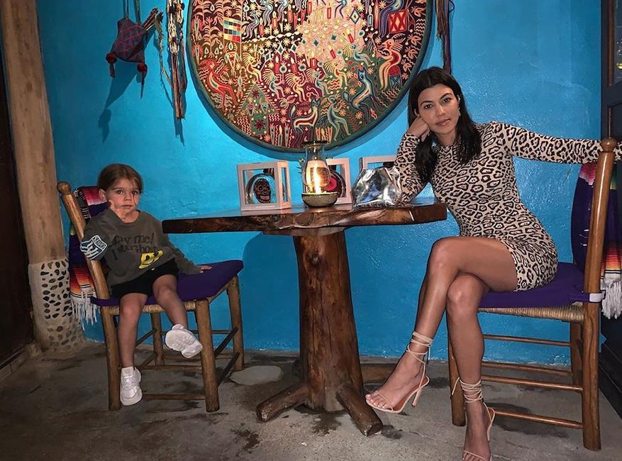 Kourtney Kardashian, Reign Disick, Cabo