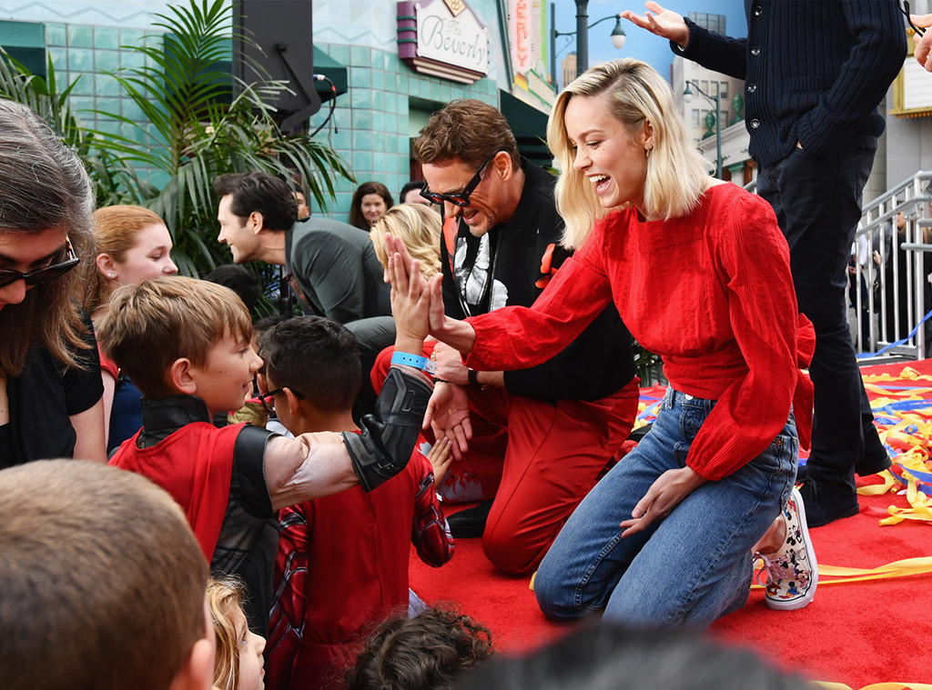 Robert Downey Jr., Brie Larson