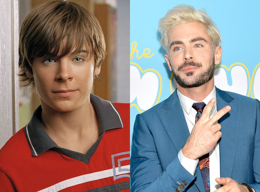 Zac Efron, Summerland, Then and Now
