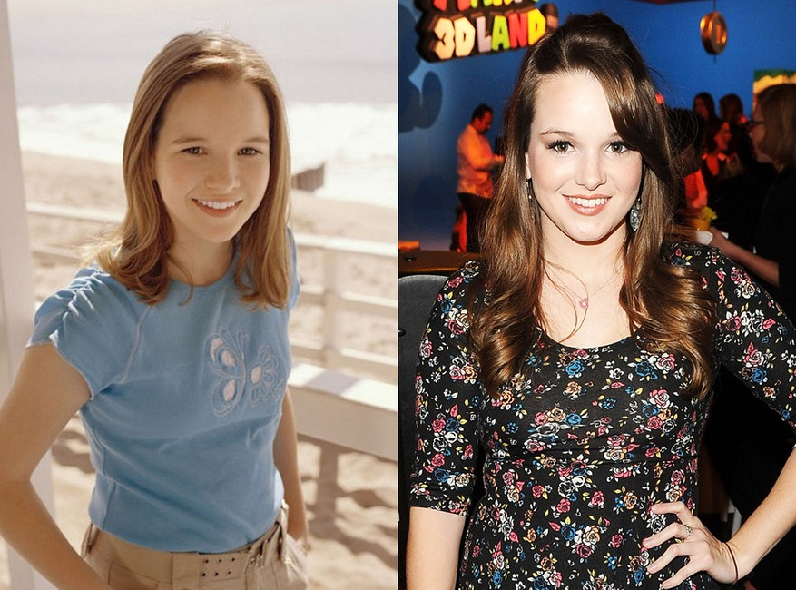 Kay Panabaker, Summerland, Then and Now