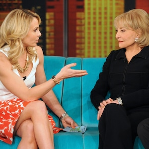 Elisabeth Hasselbeck, Barbara Walters, The View