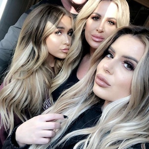 Brielle Biermann, Ariana Biermann, Kim Zolciak-Biermann