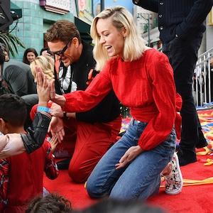 Robert Downey Jr., Brie Larson